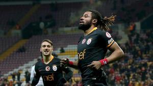 Galatasaray Hataysporu 2 golle geçti Avantaj Aslanın