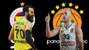 Fenerbahçe Beko, Panathinaikosa karşı iddaada oynanması gereken...