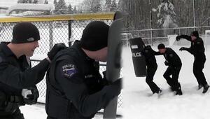 Operasyon ihbarına giden polis ekibine soğuk şaka