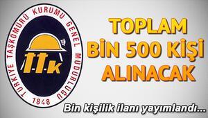 Türkiye Taşkömürü Kurumu işçi alımı başvurusu nasıl yapılır