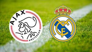Ajax Real Madrid Şampiyonlar Ligi maçı bu akşam hangi kanalda saat kaçta canlı olarak izlenecek