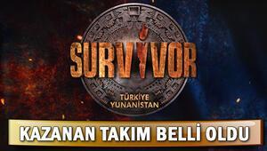 Survivorda dün kim kazandı İşte Survivorda ödül oyunu ve dokunulmazlığı kazanan takım
