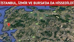 Son dakika.. Çanakkalede korkutan deprem İstanbul, İzmir ve Bursada hissedildi