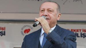 Son dakika Cumhurbaşkanı Erdoğandan önemli açıklamalar: Nisan ayıyla birlikte...