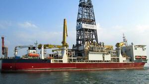Türkiyenin ikinci sondaj gemisi Çanakkale Boğazından geçti