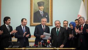 Son dakika: AK Parti TBMM Başkan adayı için başvurdu