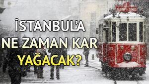 İstanbula kar uyarısı Hafta sonu hava nasıl olacak