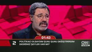 YazarAhmet Ümit: Politikacı olsaydım...