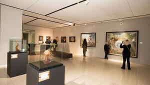 Ateş ve sanatı birleştiren Azarnegari sergisi açıldı