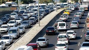 Trafiğe 1 ayda 66 bin 486 aracın kaydı yapıldı