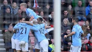 Manchester City kazandı, baskıyı Liverpoolun üzerine attı