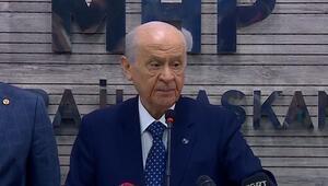 Son dakika Devlet Bahçeli: Ankara dün zillete teslim olmadı olmayacaktır