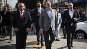 Bakan Çavuşoğlu dini liderlerle buluştu