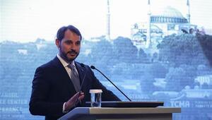 Bakan Albayraktan İstanbul Finans Merkezi Konferansında çarpıcı mesajlar