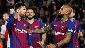 Barcelona geri dönüşle kazandı
