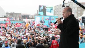 Cumhurbaşkanı Erdoğan Küçükçekmecede