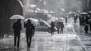 İstanbul ve tüm yurtta hava durumu nasıl oldu Günün hava durumu raporu