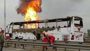 Son dakika... İranda patlama