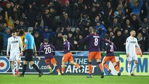 Swansea City 2-3 Manchester City (MAÇ ÖZET)
