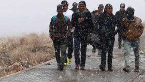 Kaçak göçmenlerin zorlu yolculukları