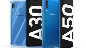 Samsung Galaxy A30 ve A50 Türkiyede İşte fiyatı