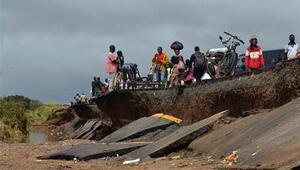 Mozambikte ölü sayısı 200e yükseldi