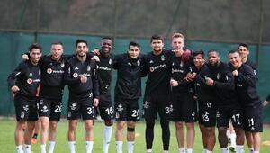 Beşiktaşta Rizespor maçı hazırlıkları sürüyor