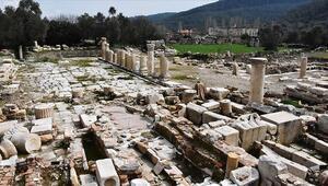 Gladyatörler Kentinin mezarları ziyarete açılıyor