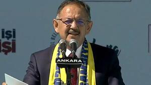 Özhaseki, Cumhur İttifakı Ankara mitinginde konuştu
