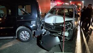 Zeytinburnunda aynı noktada iki kaza: 7 yaralı