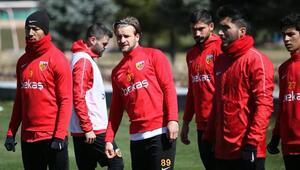 Kayserisporda Sivasspor hazırlıkları sürüyor