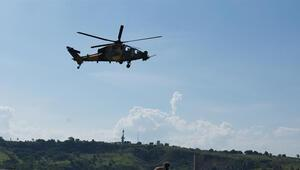T129 Atak helikopteri Brezilya'daki ilk uçuş gösterisini yaptı