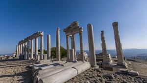 İzmirde Pergamon Antik Kenti