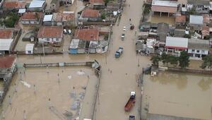 İrandaki sel felaketinden tarihi eserler de zarar gördü