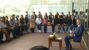 Cumhurbaşkanı Erdoğandan sürpriz programda çok çarpıcı mesajlar