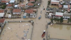 İrandaki sel felaketinde can kaybı 44e yükseldi