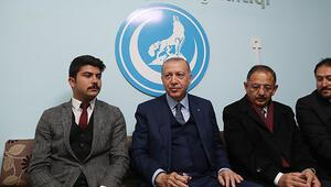 Erdoğandan Ülkü Ocaklarına sürpriz ziyaret