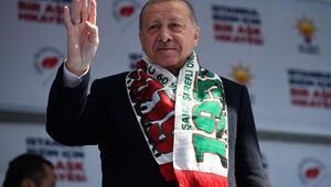 Cumhurbaşkanı Erdoğan Bayrampaşada konuştu