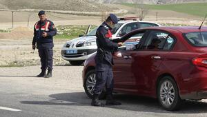 Jandarmadan havada tespit yerde ceza