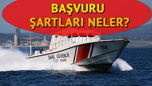 Sahil Güvenlik Komutanlığına personel alınacak Başvuru şartları neler