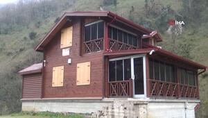 'Tosuncuk'un köyüne yaptırdığı villa ilk kez görüntülendi
