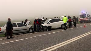 Adıyamanda trafik kazası: 6 yaralı