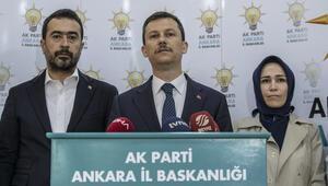 AK Partiden Ankara için açıklama