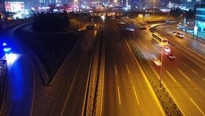 Atatürk Havalimanının taşınma süreci nedeniyle o yollar trafiğe kapatıldı