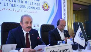 TBMM Başkanı Mustafa Şentop: Teröre karşı ortak mücadele Asyada ortak hedef olmalı