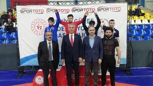 Türkiye Gençler Greko-Romen Güreş Şampiyonası sona erdi