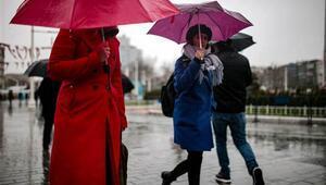 MGM açıkladı: Bugün yağmur yağacak mı O bölgelere kuvvetli yağış uyarısı