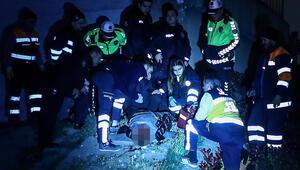 E-5te şoke eden olay Belediye işçileri kazanın ardından ceset buldu