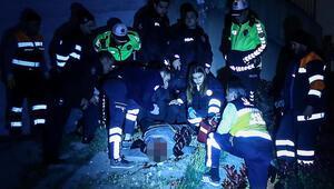 Belediye işçileri kazanın ardından ceset buldu