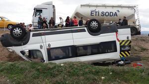 Gezi dönüşü kazada 11 yaralı
